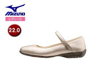 mizuno/ミズノ B1GH1570-49 レディースウォーキングシューズ SELECT520 【22.0】 (ゴールド)