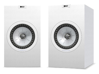 【納期にお時間がかかります】 KEF JAPAN Q350(サテンホワイト) ペア ※グリル(サランネット)は別売 ブックシェルフスピーカー 【当店のKEF製品は国内正規代理店品です】