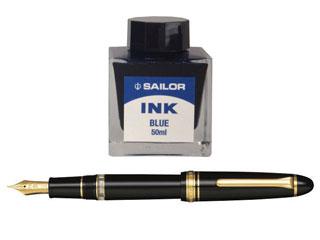 セーラー万年筆 セーラー プロフィットレアロ万年筆 ブラック 10-8409-942