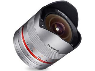 【納期にお時間がかかります】 SAMYANG/サムヤン 8mm F2.8 UMC FISH-EYE II (シルバー) キヤノンM用 【お洒落なクリーニングクロスプレゼント!】 魚眼レンズ