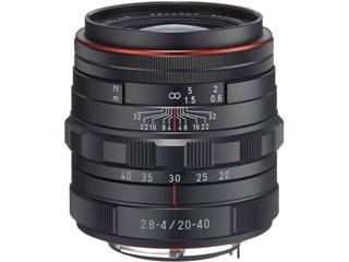 超お得なセットも有ります! PENTAX/ペンタックス HD PENTAX-DA 20-40mmF2.8-4ED Limited DC WR(ブラック) 標準ズームレンズ 【pentaxcbcp】