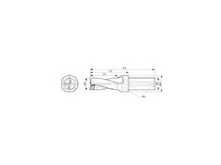KYOCERA/京セラ ドリル用ホルダ S25-DRZ2550-08