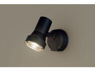 Panasonic/パナソニック LGWC45030BZ LEDスポットライト オフブラック【電球色】【明るさセンサ】【壁直付型】