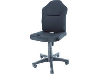 TRUSCO/トラスコ中山 ダブルクッション 長時間椅子(肘掛無し) ブラック TWCC-BK