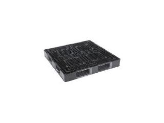 【組立・輸送等の都合で納期に4週間以上かかります】 GIFU/岐阜プラスチック工業 【代引不可】RISU/リス パレットJL-D4・1212片面四方差 黒 JL-D4-1212BK