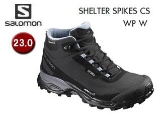SALOMON/サロモン L39072900 SHELTER SPIKES CS WP W ウィンターシューズ ウィメンズ 【23.0】