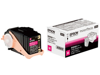 EPSON/エプソン LP-S6160用 環境推進トナー/マゼンタ/Mサイズ(印刷可能ページ:約3700ページ) LPC3T35MV