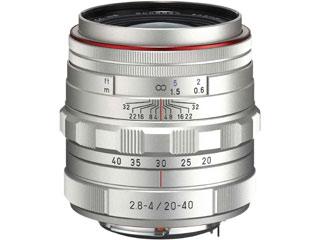 超お得なセットも有ります! PENTAX/ペンタックス HD PENTAX-DA 20-40mmF2.8-4ED Limited DC WR(シルバー) 標準ズームレンズ 【pentaxcbcp】