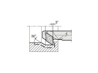 KYOCERA/京セラ 内径加工用ホルダ A16Q-SDZCR07-20AE