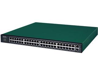 パナソニックESネットワークス 全ポートギガ レイヤ2 PoE給電スイッチングハブ 50ポート GA-AS48TPoE+ PN25488