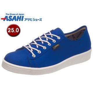 ASAHI/アサヒシューズ AX11263 アサヒウォークランド 041GT ゴアテックス スニーカー 【25.0cm・3E】 (ブルー)