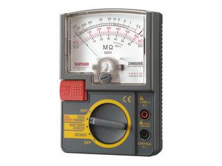 sanwa/三和電気計器 DM509S 絶縁抵抗計/小型単レンジ式 / アナログ