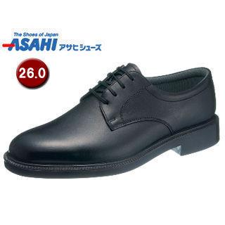 【nightsale】 ASAHI/アサヒシューズ AM33241 通勤快足 TK33-24 ビジネスシューズ 【26.0cm・4E】 (ブラック)