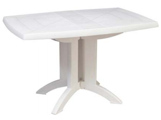 Grosfillex/グロスフィレックス 【時間帯指定不可】GRS-T05W ベガテーブル (ホワイト)