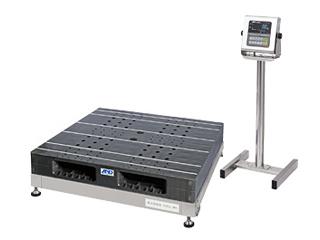 A&D/エー・アンド・デイ 【代引不可】防塵・防水パレット一体型デジタル台はかり検定付き SN1200KWPK