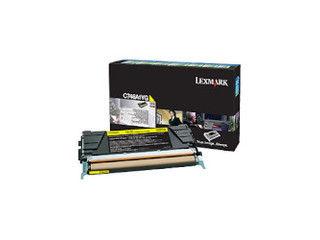 LEXMARK/レックスマーク イエローリターントナーカートリッジ 7000枚 C746A1YG