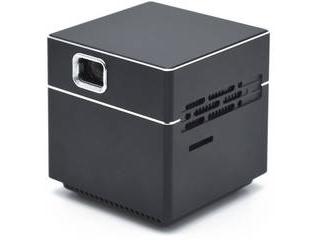 日本トラストテクノロジー ポータブルプロジェクター CUBE ブラック SPCUBK