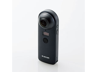 ELECOM/エレコム 4K対応VRカメラ【OMNI shot】 OCAM-VRW01BK