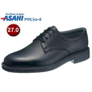 【nightsale】 ASAHI/アサヒシューズ AM33241 通勤快足 TK33-24 ビジネスシューズ 【27.0cm・4E】 (ブラック)