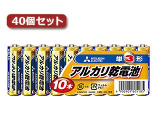 三菱 三菱 LR6N/10S(単3 10本) 40パックセット LR6N/10SX40