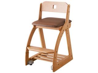 KOIZUMI/コイズミ 【SQUARE Chair/木製スクエアチェア】KDC-092NS MB ミディアムブラウン