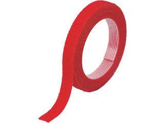 TRUSCO/トラスコ中山 マジックバンド結束テープ 両面 幅40mmX長さ30m 赤 MKT-40W-R