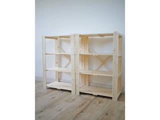 木製ラック4段2個組 ナチュラル ナチュラル TNMR-8760N-2P, 杷木町:1339c86a --- reisotel.com