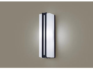 Panasonic/パナソニック LGWC81433LE1 LEDポーチライト オフブラック【昼白色】【明るさセンサ付】【壁直付型】