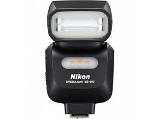 新たにLEDライトを搭載した 小型 軽量で携行しやすく ギフト プレゼント ご褒美 2020 新作 単3形電池2本で使用できるスピードライト ニコン スピードライト SB-500 Nikon