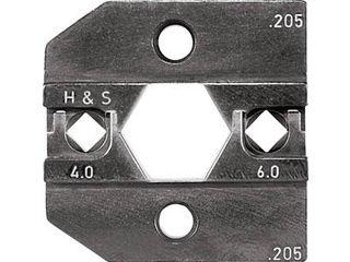 RENNSTEIG/レンシュタイクヴェルクツォイゲ 圧着ダイス 624-205 Huber 4.0-6.0 624-205-3-0