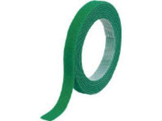 TRUSCO/トラスコ中山 マジックバンド結束テープ 両面 幅40mmX長さ30m 緑 MKT-40W-GN