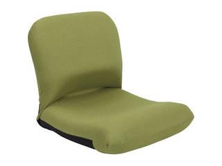 背中を支える美姿勢座椅子 グリーン 背中 CBC-313 GR