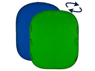 Lastolite ラストライト 【納期未定】LL LC5987 折り畳み式 クロマキー背景リバーシブル 1.8 x 2.1m ブルー / グリーン