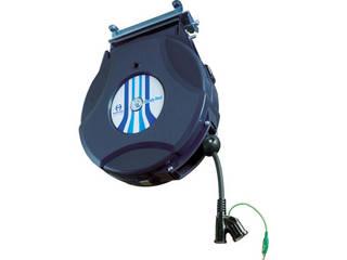 NIPPEI/日平機器 リール コンセントリール 10M 125V・10A(コード引き出し時) HEP-610C-BG