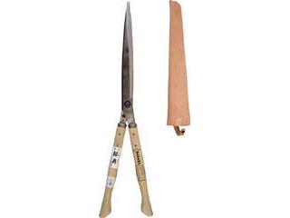 IKARASHI/五十嵐刃物工業 Kanenori/鋼典 刈込鋏 安来鋼付ネジ式トメ付 1尺樫 和釘打桂コブ柄 A-71