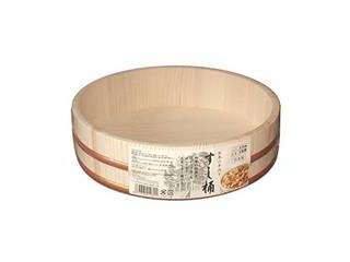 【ひなまつり・節分】寿司飯づくりに欠かせません 星野工業 すし桶 3合 30cm(寿司桶・飯台)