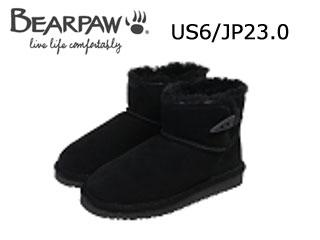 Bear paw/ベアパウ CI4BT002W ムートンブーツ Jonnie (Black) 【US6/JP23.0】【日本正規品】