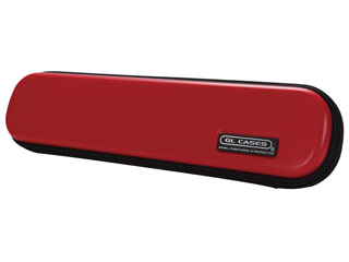 【nightsale】 【納期にお時間がかかります】 GL CASES GLE-FL(03) 【RED】 ABS フルート用ケース