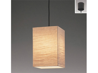 ENDO/遠藤照明 ERP7117NA 和風ペンダントライト 美濃和紙 【電球色】ランプ付