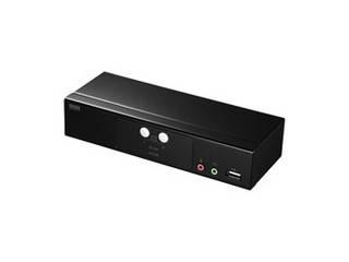 サンワサプライ サンワサプライ HDMI対応パソコン自動切替器(2:1) SW-KVM2HHC