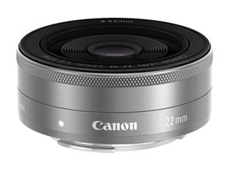 CANON/キヤノン 【納期約2ヶ月かかります】EF-M22mm F2 STM シルバー