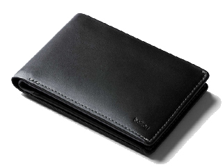 Bellroy/ベルロイ 本革財布■トラベルウォレット【ブラック】■RFIDスキミング防止機能■(BRWTRB-R ) ※天然のレザーを使用しておりますので、多少のシワなどがある場合がございます。予めご了承ください。 革 レザー ミニマム ウォレット 財布 ミニ財布 コンパ