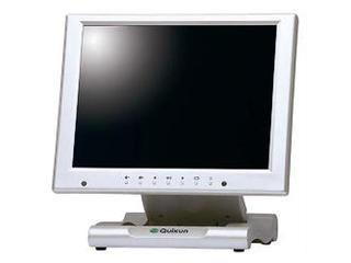 クイックサンプロダクツ 10.4インチ液晶ディスプレイ保護フィルタ搭載タイプ パールホワイト QT-1007P(AVG)