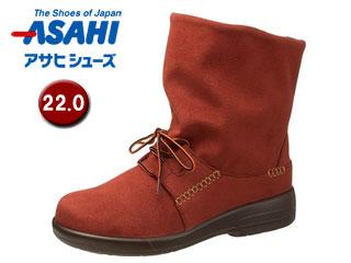 ASAHI/アサヒシューズ AF38835 TDY38-83 トップドライ 女性用ブーツ 【22.0cm・3E】(レンガ)