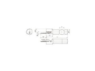 KYOCERA/京セラ 内径加工用ホルダ S19N-SVNR12N