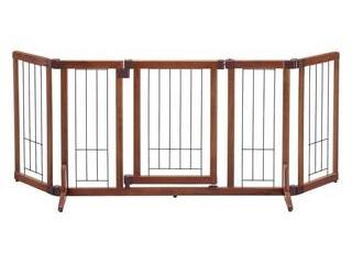株式会社リッチェル ★★★ペット用木製おくだけドア付ゲート M