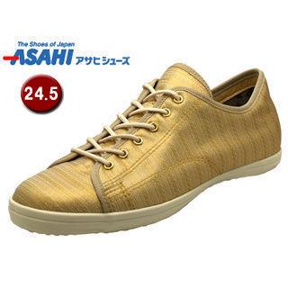 ASAHI/アサヒシューズ AX11232 アサヒウォークランド 038GT ゴアテックス スニーカー 【24.5cm・2E】 (ホワイト/ゴールド)