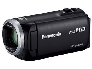 【お得な32GB SDHCカードセットもあります!】 Panasonic/パナソニック HC-V480MS-K(ブラック) デジタルハイビジョンビデオカメラ