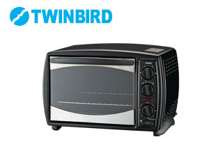 【nightsale】 TWINBIRD/ツインバード TS-4118B コンベクションオーブン(ブラック)