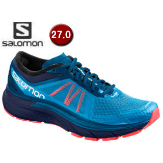 SALOMON/サロモン L40243000 SONIC RA MAX ロードランニングシューズ メンズ 【27.0cm】 (Hawaiian Surf / Black /Black)